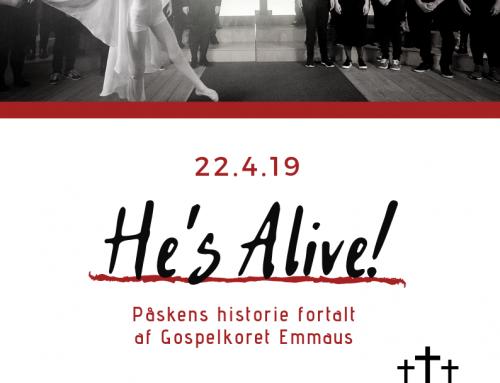 He's Alive! Påskemesse med Emmaus