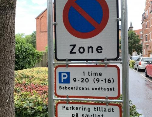 OBS! Undgå parkeringsbøder!