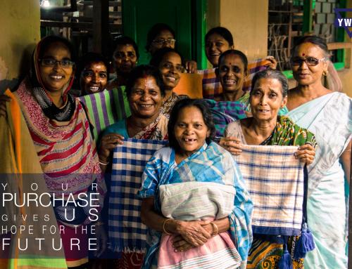 Hjælp kvinder og børn i Indien