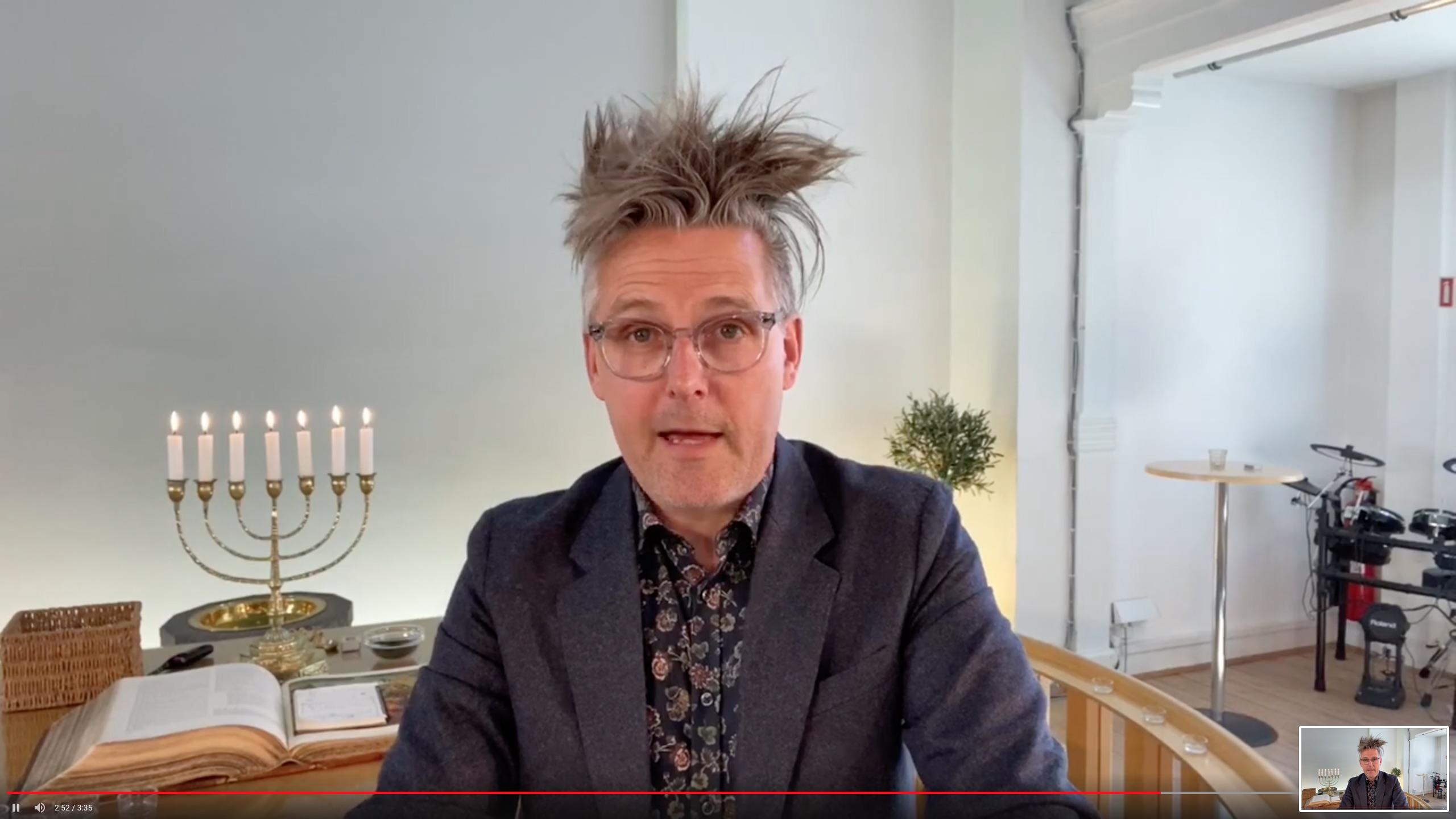 Kirken går Online – Gå med – Vi bliver der